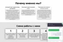 Создам лендинг на популярных платформах 126 - kwork.ru