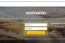 Создам лендинг на популярных платформах 91 - kwork.ru