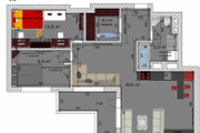 Интересные планировки квартир 148 - kwork.ru