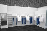 Визуализация торгового помещения, островка 62 - kwork.ru