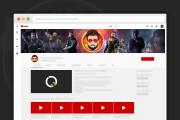 Сделаю оформление канала YouTube 117 - kwork.ru