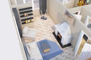 Создам планировку дома, квартиры с мебелью 91 - kwork.ru