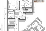 Разработка 3 вариантов планировки квартиры 37 - kwork.ru