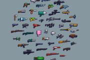 Пиксельная графика и анимация для игр. Персонажи 17 - kwork.ru