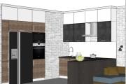 Дизайн-проект кухни. 3 варианта 37 - kwork.ru