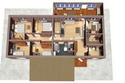 Создам планировку дома, квартиры с мебелью 116 - kwork.ru