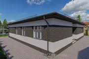 Фотореалистичная 3D визуализация экстерьера Вашего дома 247 - kwork.ru