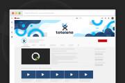 Сделаю оформление канала YouTube 123 - kwork.ru