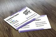 Разработаю дизайн визитки 24 - kwork.ru