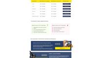 Дизайн одного блока Вашего сайта в PSD 125 - kwork.ru
