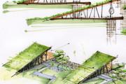 Выполню концепцию ландшафта загородного участка в стиле архскетчинга 9 - kwork.ru