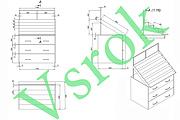 Схемы в аксонометрии, чертежи 5 - kwork.ru