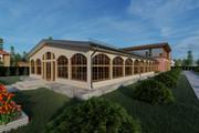 Фотореалистичная 3D визуализация экстерьера Вашего дома 270 - kwork.ru