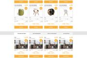 Уникальный дизайн сайта для вас. Интернет магазины и другие сайты 239 - kwork.ru