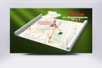 Красивая схема и карта проезда 31 - kwork.ru
