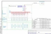 Выполню однолинейную схему электроснабжения 138 - kwork.ru