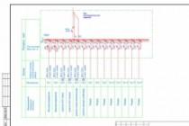 Выполню однолинейную схему электроснабжения 140 - kwork.ru