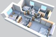 3d визуализация квартир и домов 238 - kwork.ru