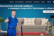 Создание сайта - Landing Page на Тильде 217 - kwork.ru