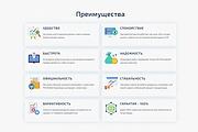 Продающий сайт - Лендинг под ключ, для любых целей 150 - kwork.ru