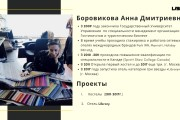 Стильный дизайн презентации 644 - kwork.ru