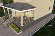 Фотореалистичная 3D визуализация экстерьера Вашего дома 272 - kwork.ru