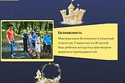 Создание сайта - Landing Page на Тильде 224 - kwork.ru