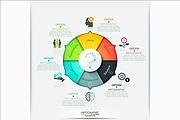 Золотой набор инфографики для дизайнера 3 - kwork.ru
