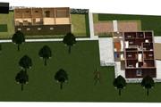 Создам планировку дома, квартиры с мебелью 115 - kwork.ru