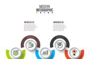 Набор инфографики. 13 тематик, 800 шаблонов, 2 пакета иконок 60 - kwork.ru