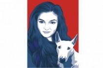 Нарисую поп-арт портрет по фото 9 - kwork.ru