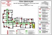 План эвакуации 19 - kwork.ru