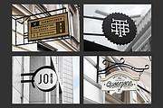 Дизайн рекламной вывески для магазина, кафе, бургерной, салона красоты 6 - kwork.ru