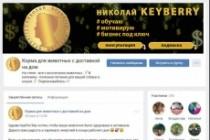Оформление шапки ВКонтакте. Эксклюзивный конверсионный дизайн 93 - kwork.ru