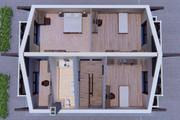 Фотореалистичная 3D визуализация экстерьера Вашего дома 317 - kwork.ru