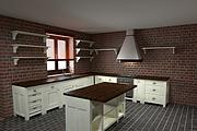 Визуализация мебели, предметная, в интерьере 129 - kwork.ru