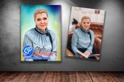 Цифровой портрет 50 - kwork.ru
