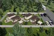 Фотореалистичная 3D визуализация экстерьера Вашего дома 387 - kwork.ru