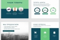 Красиво, стильно и оригинально оформлю презентацию 364 - kwork.ru