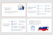 Красиво, стильно и оригинально оформлю презентацию 331 - kwork.ru
