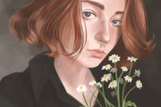 Яркий цифровой портрет по фото 14 - kwork.ru