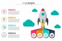 Набор инфографики. 13 тематик, 800 шаблонов, 2 пакета иконок 69 - kwork.ru