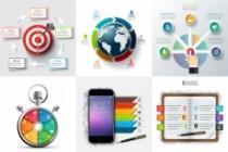Набор инфографики. 13 тематик, 800 шаблонов, 2 пакета иконок 67 - kwork.ru