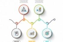 Набор инфографики. 13 тематик, 800 шаблонов, 2 пакета иконок 63 - kwork.ru
