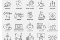 Набор инфографики. 13 тематик, 800 шаблонов, 2 пакета иконок 70 - kwork.ru