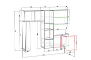 Конструкторская документация для изготовления мебели 233 - kwork.ru