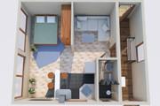 Создам планировку дома, квартиры с мебелью 97 - kwork.ru