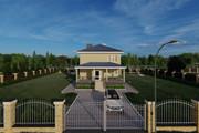 Фотореалистичная 3D визуализация экстерьера Вашего дома 271 - kwork.ru