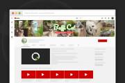 Сделаю оформление канала YouTube 109 - kwork.ru