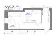 Планировка квартиры или жилого дома, перепланировка и визуализация 117 - kwork.ru